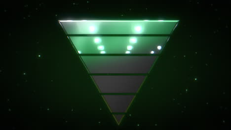 Motion-retro-triangle-in-space-with-abstract-background-5