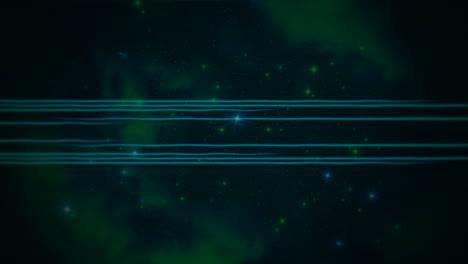 Movimiento-Retro-Líneas-Azules-Fondo-Abstracto