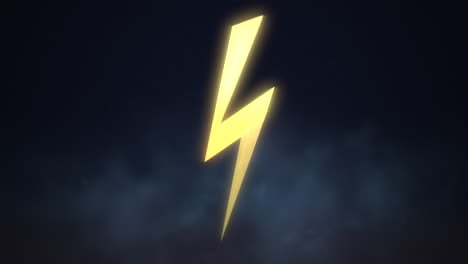 Motion-retro-thunderbolt-abstract-background-1