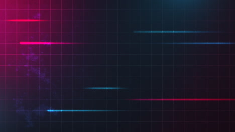 Motion-retro-red-and-blue-lines-with-abstract-background