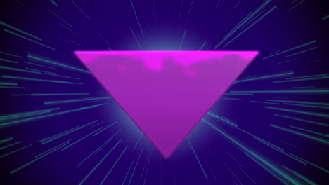 Motion-retro-purple-triangle-abstract-background