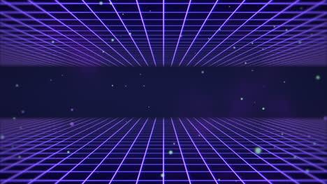 Movimiento-Retro-Líneas-Azules-Abstracto-Antecedentes-2