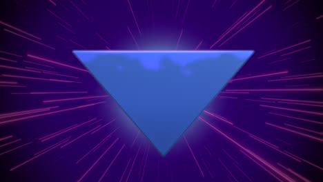 Motion-retro-blue-triangle-abstract-background-1