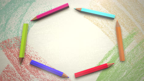Closeup-of-kids-background-with-colourful-pencils-4