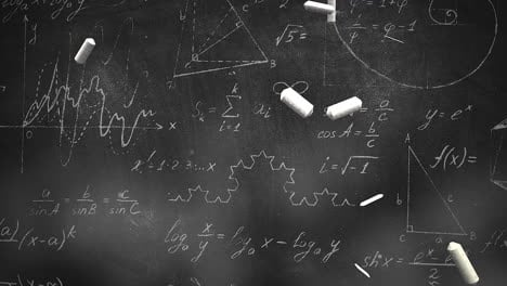 Closeup-mathematical-formula-and-elements-on-blackboard-5