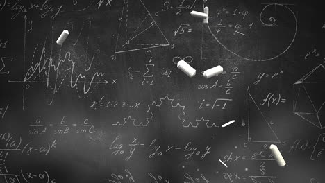 Closeup-mathematical-formula-and-elements-on-blackboard-6