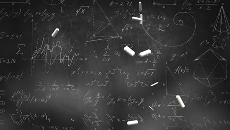 Closeup-mathematical-formula-and-elements-on-blackboard-8