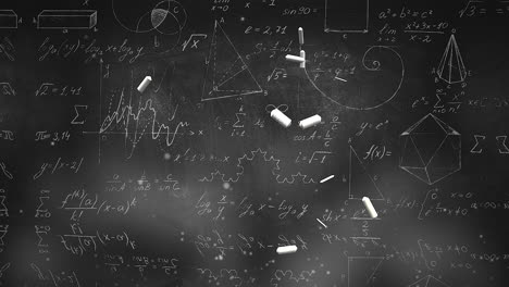 Closeup-mathematical-formula-and-elements-on-blackboard-9
