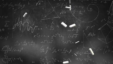 Closeup-mathematical-formula-and-elements-on-blackboard-10