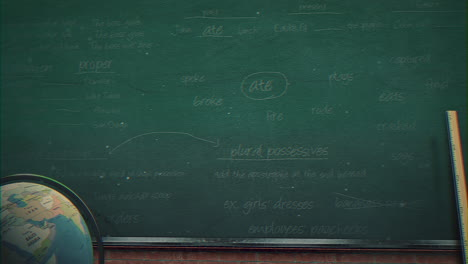 Closeup-mathematical-formula-and-elements-on-blackboard-11
