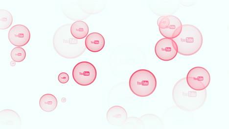 Iconos-De-Movimiento-De-La-Red-Social-Youtube-Sobre-Fondo-Simple-1