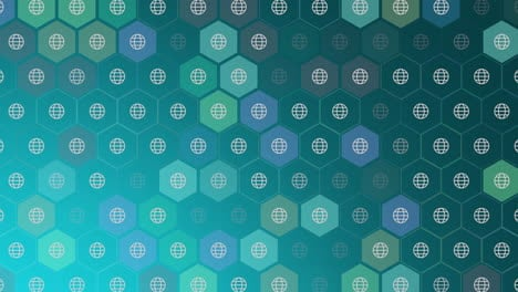 Motion-Globe-icon-on-simple-network-background-2