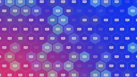 Motion-Message-icons-on-simple-network-background-5