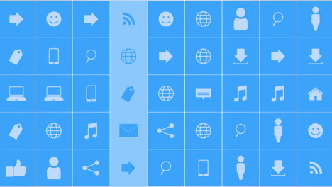 Motion-network-icons-on-simple-background-9