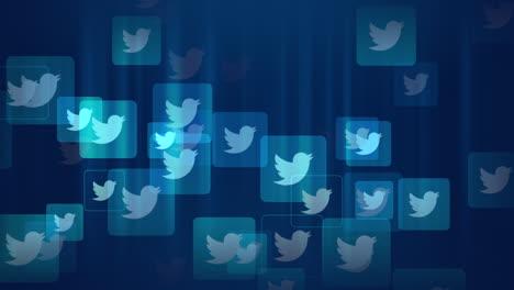 Iconos-De-Movimiento-De-La-Red-Social-Twitter-Sobre-Fondo-Simple-9