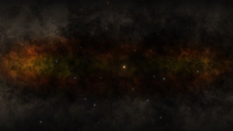Motion-particles-and-stars-in-galaxy-33