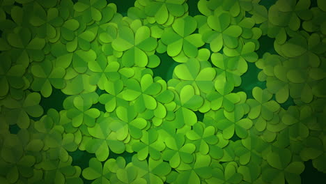 Motion-green-shamrocks-with-Saint-Patrick-Day-2