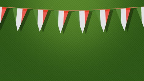 Saint-Patrick-Day-holiday-with-Ireland-flags