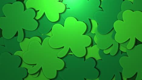 Animation-Saint-Patricks-Day-with-motion-green-shamrocks-3