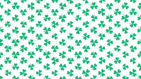 Motion-green-shamrocks-with-Saint-Patrick-Day-9