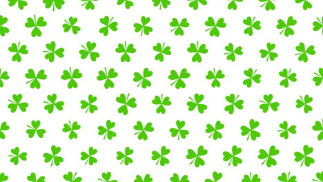 Animation-Saint-Patricks-Day-with-motion-green-shamrocks-6