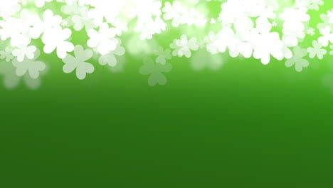 Motion-green-shamrocks-with-Patricks-Day-3