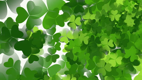 Motion-green-shamrocks-with-Saint-Patrick-Day-12
