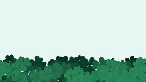 Motion-green-shamrocks-with-Saint-Patrick-Day-17