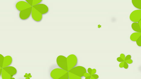 Motion-green-shamrocks-with-Patricks-Day-8