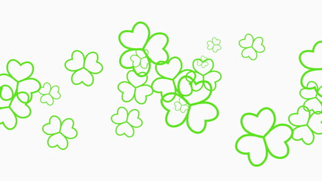 Animation-Saint-Patricks-Day-with-motion-green-shamrocks-16