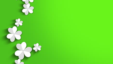 Motion-green-shamrocks-with-Saint-Patrick-Day-26