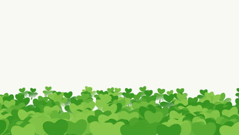 Animation-Saint-Patricks-Day-with-motion-green-shamrocks-18