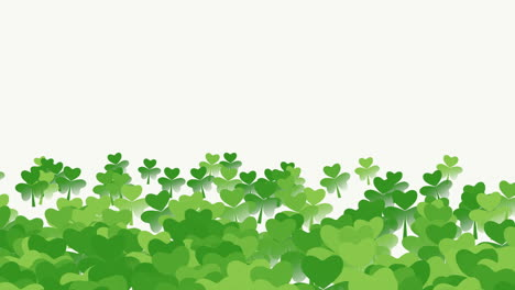 Motion-green-shamrocks-with-Patricks-Day-11