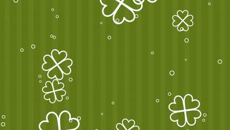 Animation-Saint-Patricks-Day-with-motion-green-shamrocks-19