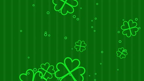 Animation-Saint-Patricks-Day-with-motion-green-shamrocks-20