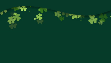 Motion-green-shamrocks-with-Patricks-Day-12