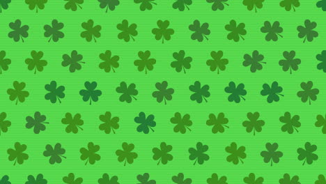 Motion-green-shamrocks-with-Patricks-Day-10