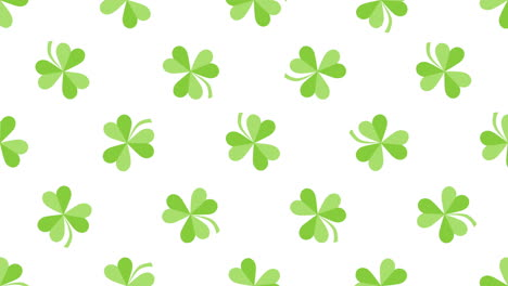 Animation-Saint-Patricks-Day-with-motion-green-shamrocks-23