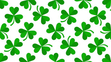 Motion-green-shamrocks-with-Saint-Patrick-Day-37
