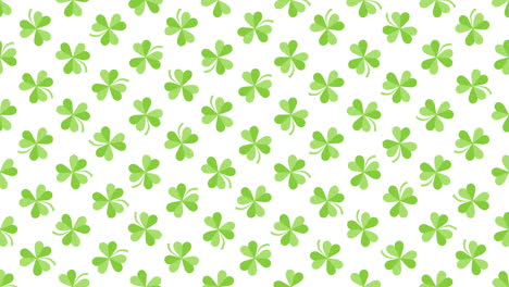 Animation-Saint-Patricks-Day-with-motion-green-shamrocks-24