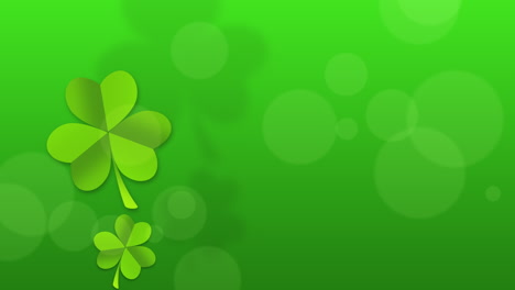 Animation-Saint-Patricks-Day-holiday-background-with-motion-green-shamrocks-25