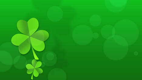 Motion-green-shamrocks-with-Patricks-Day-14