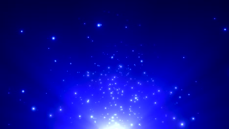 Motion-blue-particles-and-stars-in-galaxy-3