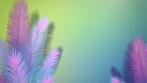 Closeup-tropical-leaf-of-trees-with-summer-background-2