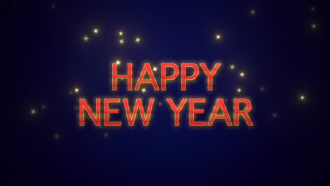 Happy-New-Year-text-on-blue-background