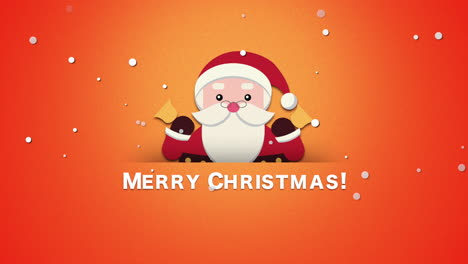 Merry-Christmas-text-with-Santa-Claus-with-bells-1