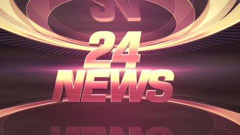 Text-24-News-and-news-intro-graphic-with-lines
