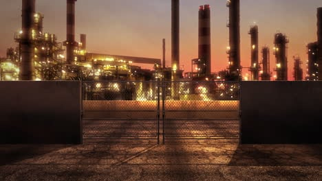 Panorama-of-city-landscape-with-big-factory-pipes
