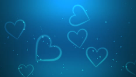 Valentines-day-shiny-background-Animation-romantic-heart-5