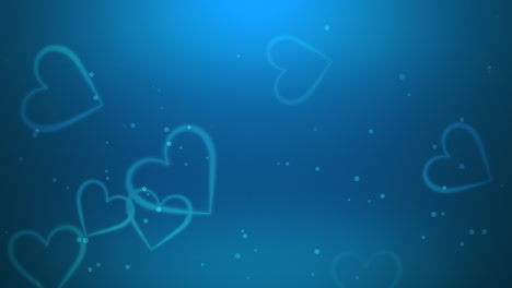 Valentines-day-shiny-background-Animation-romantic-heart-6